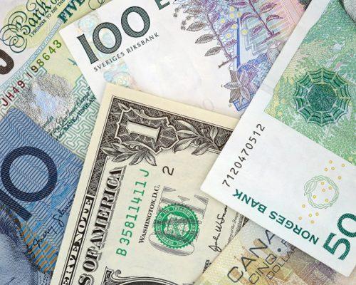 veksling af penge